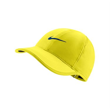 Nike Womens Featherlight Hat - Sonic Yellow/Black/Blue Jay