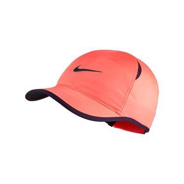 Nike Womens Featherlight Hat - Bright Mango