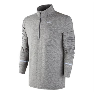 Nike Dri Fit Element 1/2 Zip - Dark Grey Heather