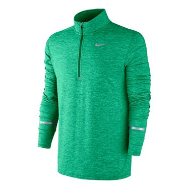 Nike Dri Fit Element 1/2 Zip - Stadium Green