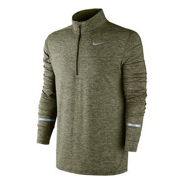 Nike Dri Fit Element 1/2 Zip - Legion Green