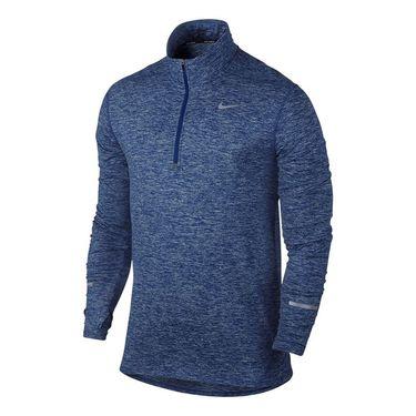 Nike Dri Fit Element 1/2 Zip - Deep Royal Blue