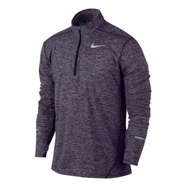 Nike Dri Fit Element 1/2 Zip - Dark Raisin
