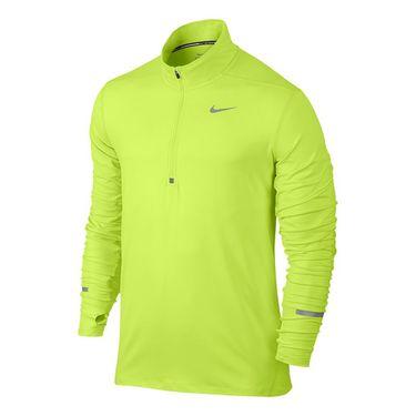 Nike Dri Fit Element 1/2 Zip - Volt