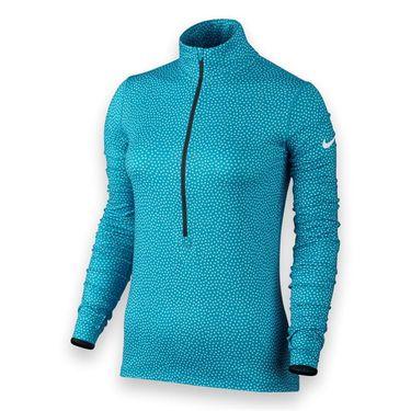 Nike Pro Warm Snow 1/2 Zip - Blue Lagoon/Copa