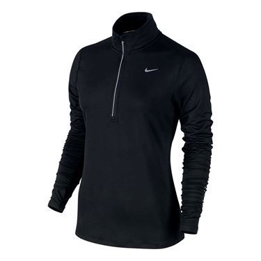 Nike Element 1/2 Zip - Black