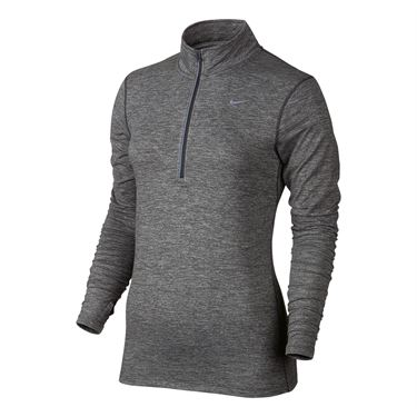Nike Element 1/2 Zip - Dark Grey Heather