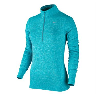 Nike Element 1/2 Zip - Omega Blue