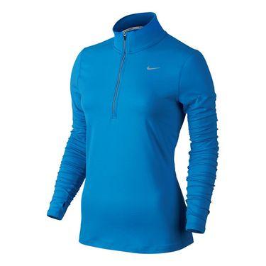 Nike Element 1/2 Zip - Lite Photo Blue