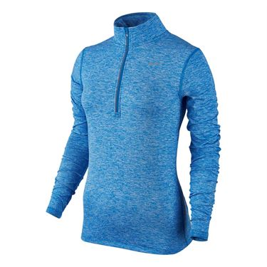 Nike Element 1/2 Zip - Light Photo Blue