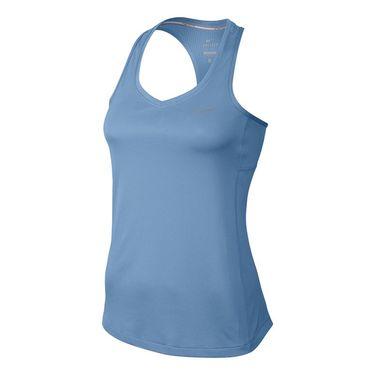 Nike Dry Miler Running Tank - Light Blue