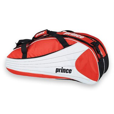 Prince Victory 6 Pack Red/White Tennis Bag