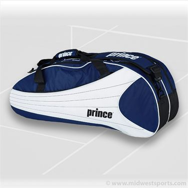 Prince Victory 6 Pack Royal Blue/White Tennis Bag