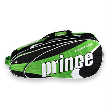 Prince Tour Team Green 12 Pack Tennis Bag
