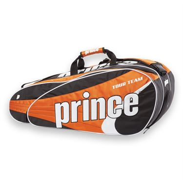 Prince Tour Team Orange 12 Pack Tennis Bag