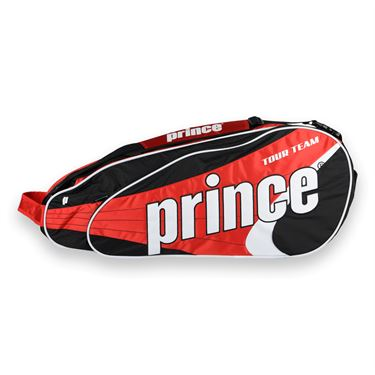 Prince Tour Team Red 6 Pack Tennis Bag