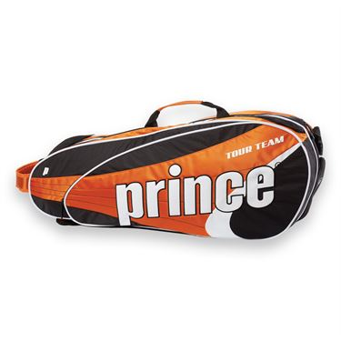 Prince Tour Team Orange 6 Pack Tennis Bag