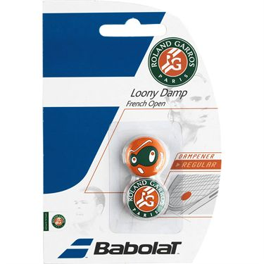 Babolat Loony Damp Roland Garros Assorted Vibration Dampener