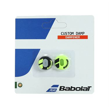 Babolat Custom Damp Vibration Dampener - Black/Yellow