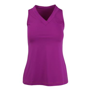 Sofibella Athletic Racer back Tank - Raspberry