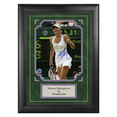 Maria Sharapova Autograph Wimbledon