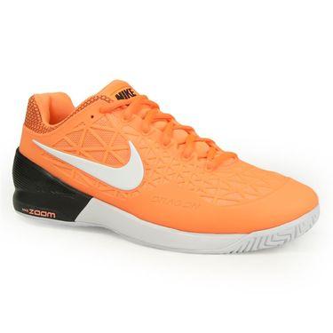 Nike Zoom Cage 2 Mens Tennis Shoe - Tart/White/Black