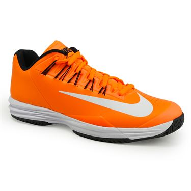 Nike Lunar Ballistec 1.5 Mens Tennis Shoe - Tart/White/Black