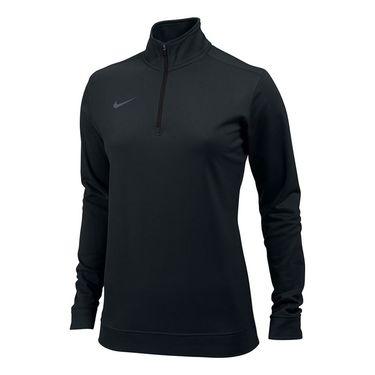 Nike Dri-FIT 1/2 Zip Top - Black