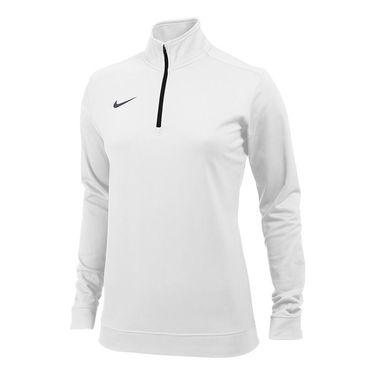 Nike Dri-FIT 1/2 Zip Top - White