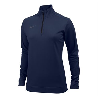 Nike Dri-FIT 1/2 Zip Top - Navy Blue