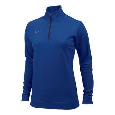 Nike Dri-FIT 1/2 Zip Top - Royal Blue