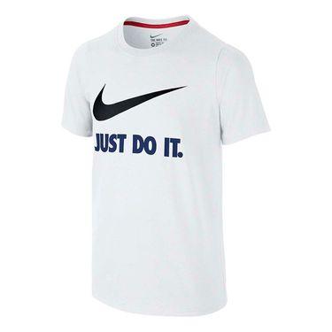 Nike Boys JDI Swoosh Training Tee - White