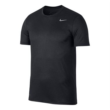 Nike Printed Dry Training Crew - Black/Anthracite