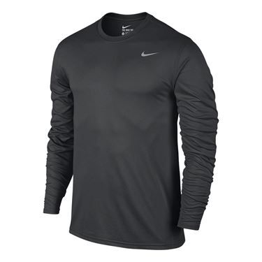 Nike Legend 2.0 Long Sleeve Crew - Anthracite