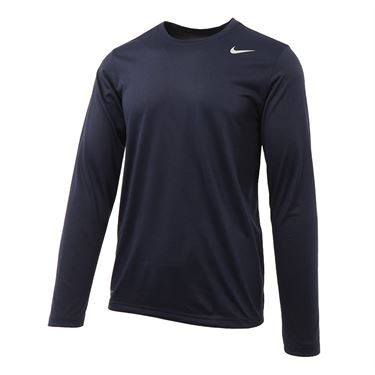 Nike Legend 2.0 Long Sleeve Crew - Obsidian/Black
