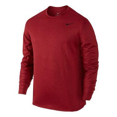 Nike Legend 2.0 Long Sleeve Crew - Night Maroon