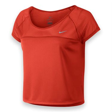 Nike Run Fast Top - Lite Crimson