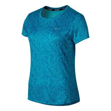 Nike Pronto Miler Top - Omega Blue