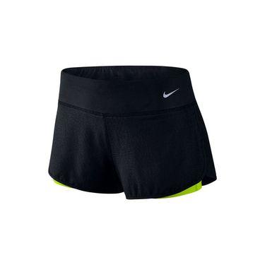 Nike Rival Jacquard 3 Inch Short - Black/Volt