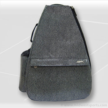 Jet Pac Salt and Pepper Sling Tennis Bag