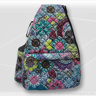 Jet Pac Thai Spice Quilted Sling Tennis Bag