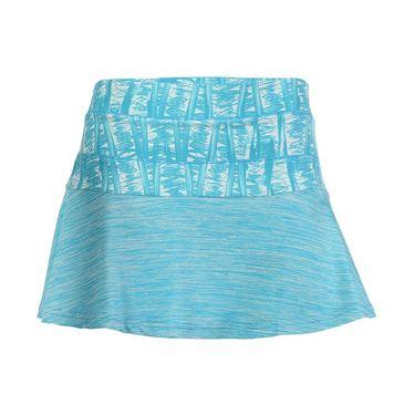 Pure Lime Tie Breaker Printed Skirt - Mediterranean Print