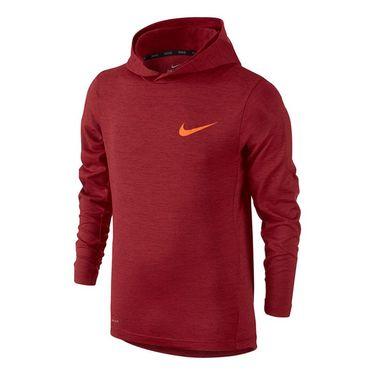 Nike Boys Training Hoodie - Team Red/Total Orange