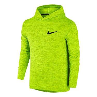 Nike Boys Training Hoodie - Volt/Black