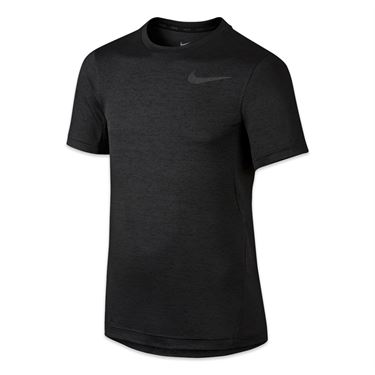 Nike Boys Dri Fit Training Crew - Black