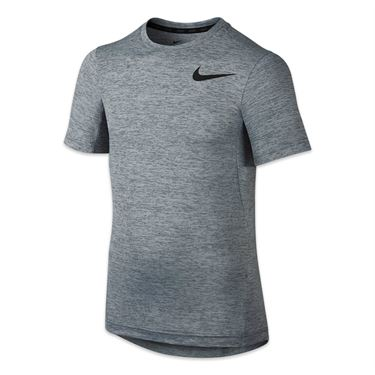 Nike Boys Dri Fit Training Crew - Cool Grey
