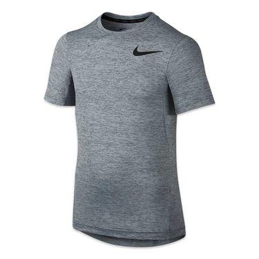 Nike Boys Dri Fit Training Crew - Cool Grey