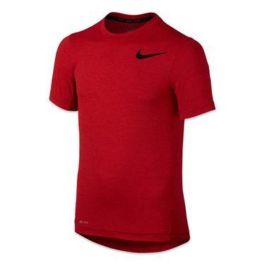 Nike Boys Dri Fit Training Crew - University Red