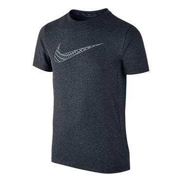 Nike Boys Dri Fit Cool Crew - Black