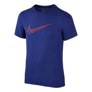 Nike Boys Dri Fit Cool Crew - Deep Royal Blue